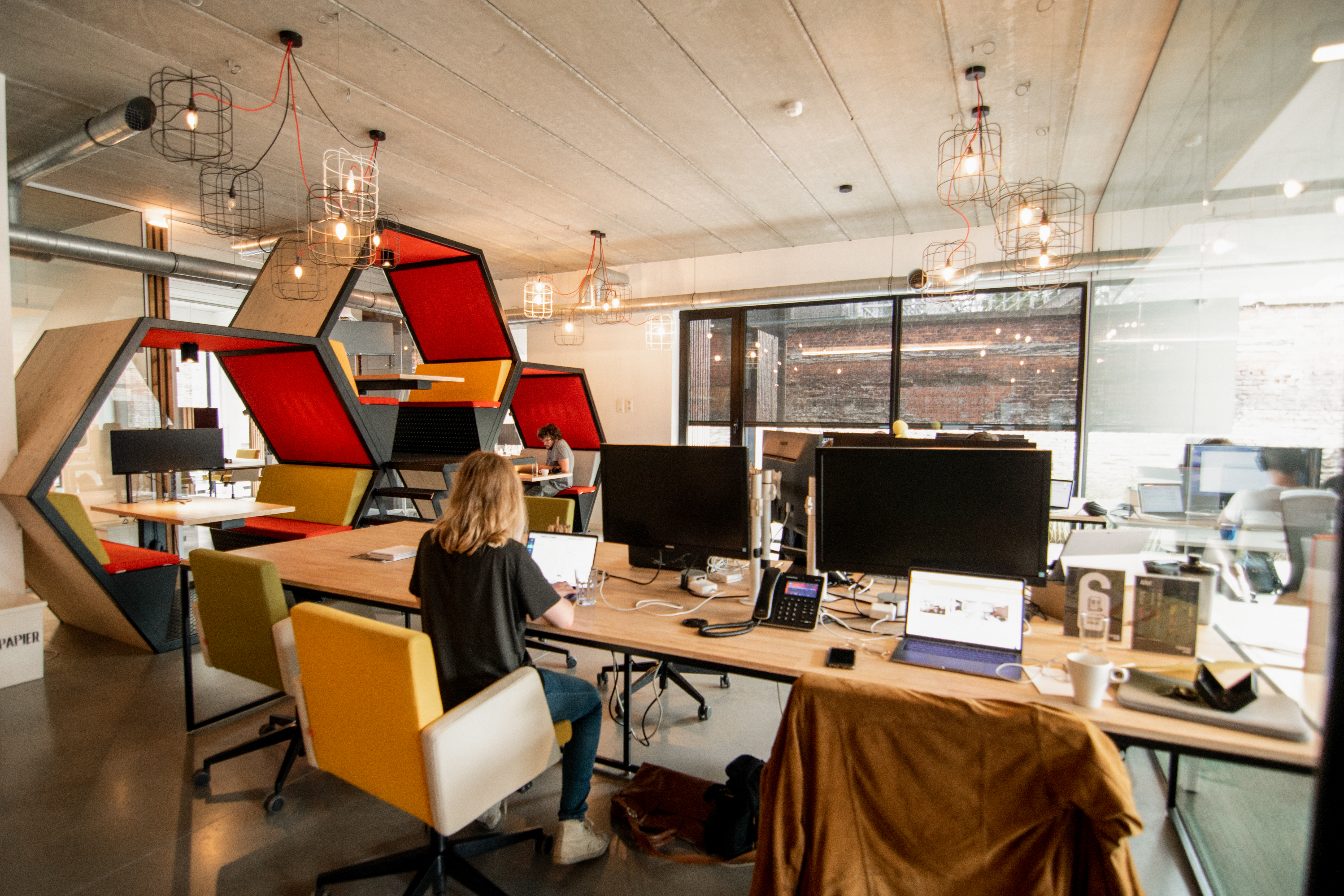 The Hive office in Ghent co-workingspace
